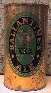 Front of Ballantine Ale.