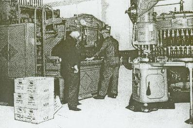 Croft bottling equipment 1935.