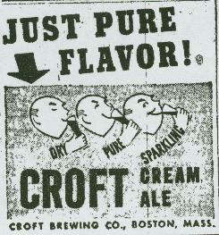 Croft lemon heads newspaper ad.