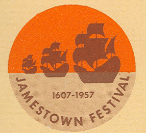 Jamestown 1957 logo.