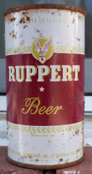Virginia Ruppert Beer can.
