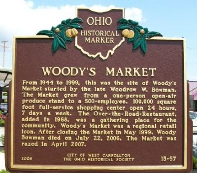 Woodys Historic Market.