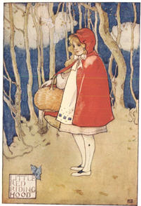 1927 Little Red Riding Hood.