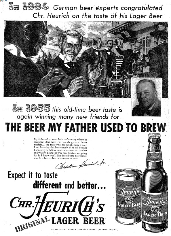 Heurich Lager ad 2.