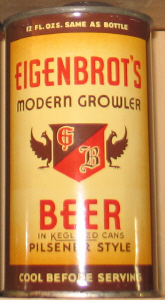 Eigenbrots Beer, indoor.