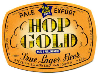 Hop Gold Label.