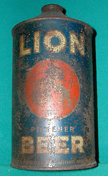 The Lion Beer Quart.