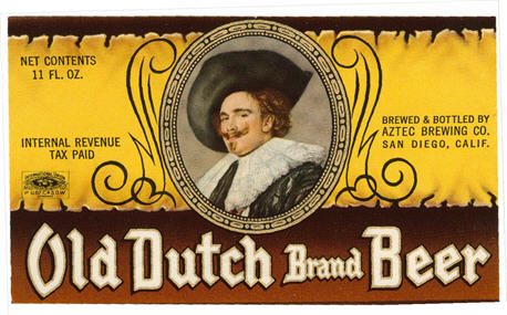 Old Dutch label.