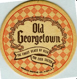 Old Georgetown coaster.