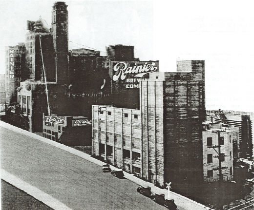 Rainier Brewery in 1930s.