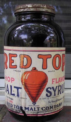 Red Top Malt bottle.