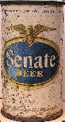 Senate Beer from alte 1940s, click to see larger picture.