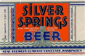 Silver Springs label.