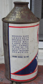 Wooden Shoe cone.